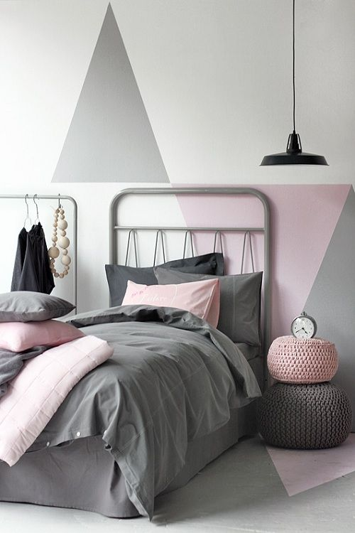 Black And White And Pink Bedroom Ideas