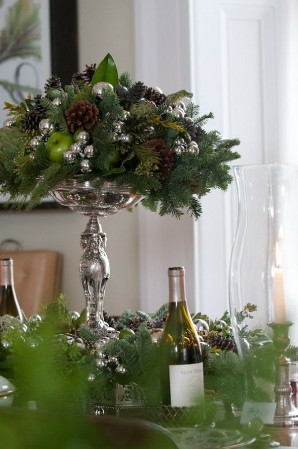 Decorating with Magnolia Leaves During the Holidays   ConfettiStyle Magnolia Arrangement