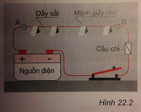 Trả lời câu hỏi C3 bài 22: Tác dụng nhiệt và tác dụng phát sáng của dòng điện - sgk Vật lí 7 trang 60