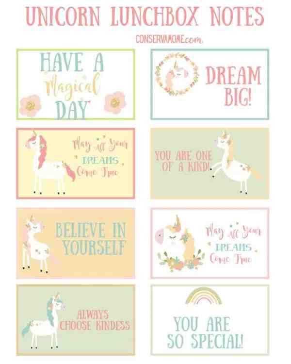 printable unicorn bookmarks # 57