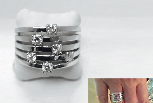 Olimpia's Custom Ring Design - Long Island