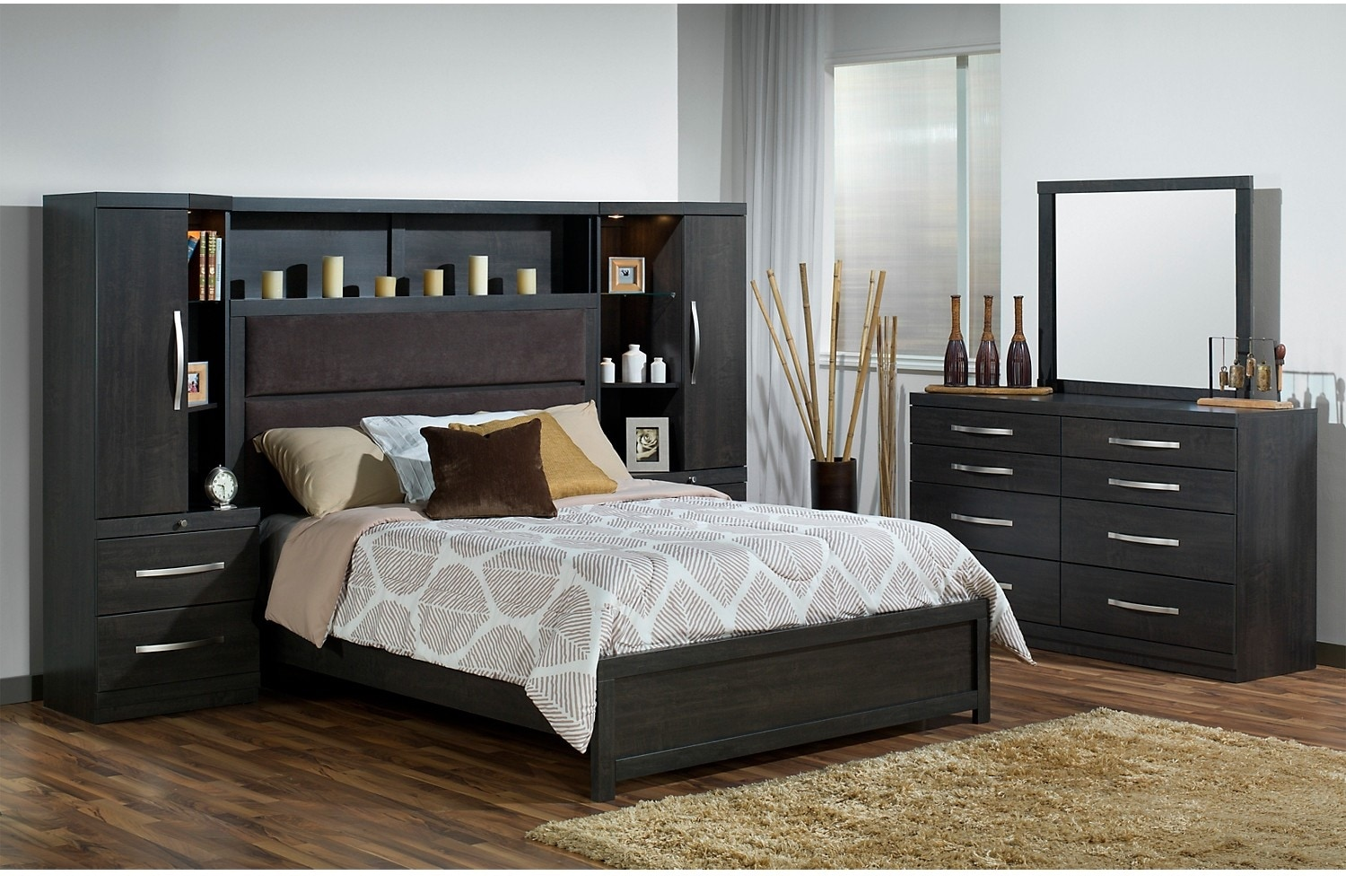 Queen Storage Bedroom Set