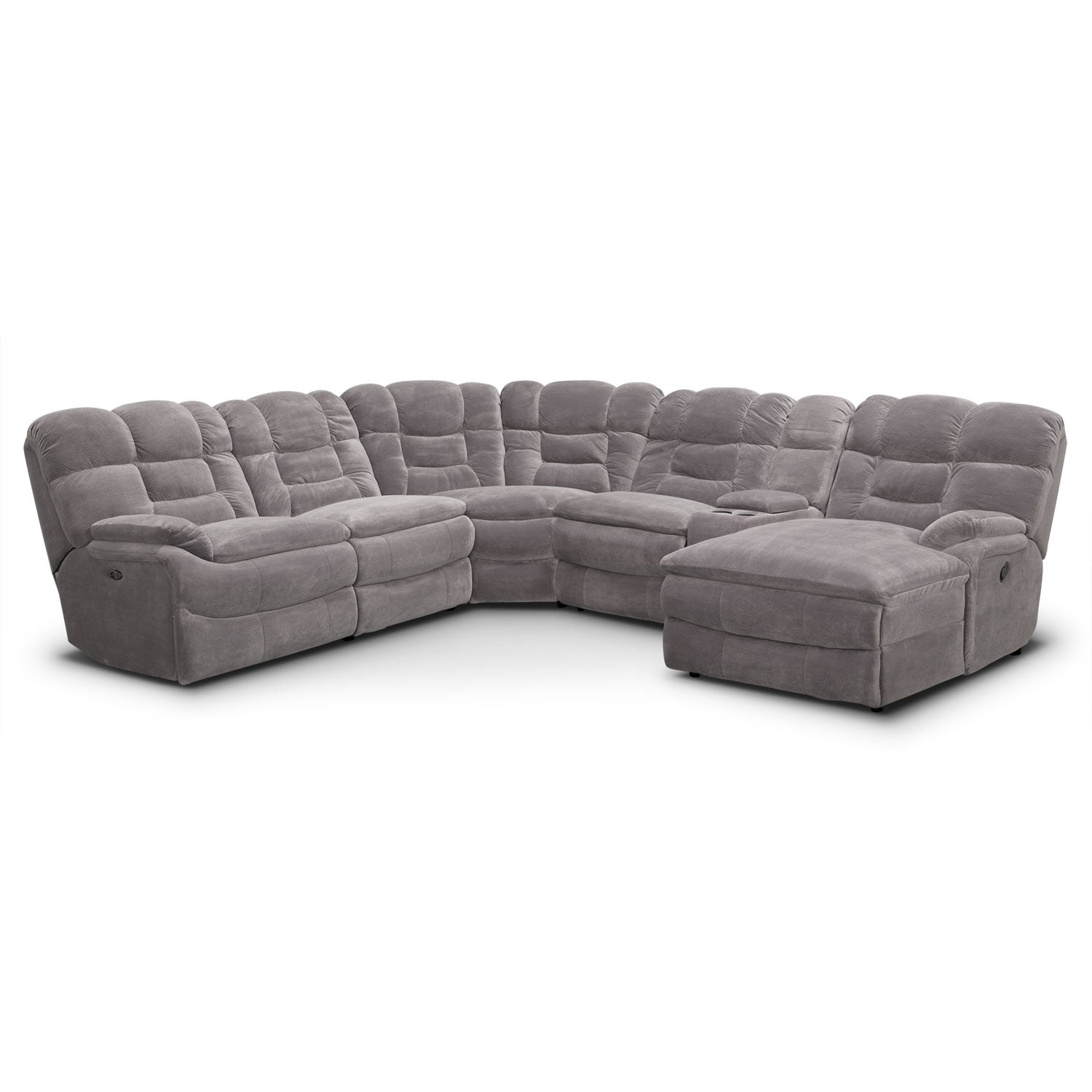 Sectional Sofa 3 Recliners