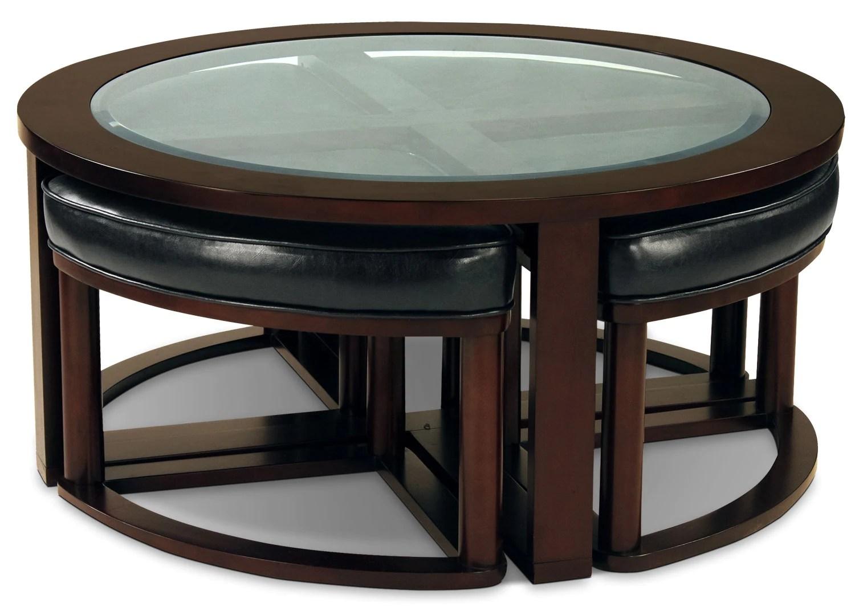 Ottoman Stools Coffee Table