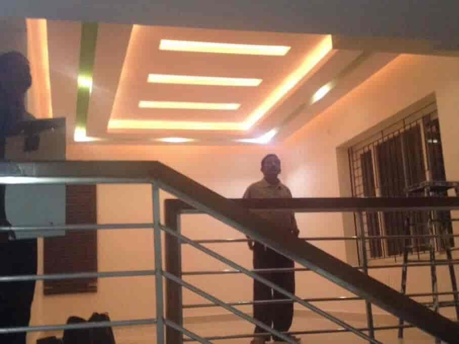 Mewalal False Ceiling Contractor Photos Rt Nagar Bangalore | False Ceiling On Stairs | Residential | Pvc Panel Ceiling | Kitchen | Traditional | Living Room Hardiflex Ceiling