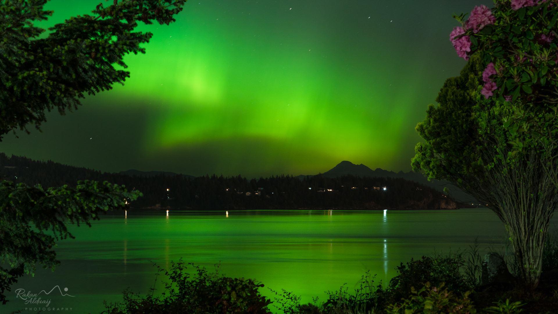 Northern Lights Idaho 2017