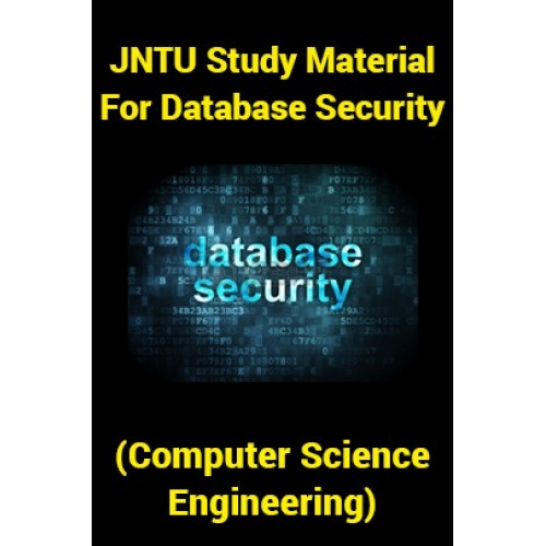Database Security Jntu Notes
