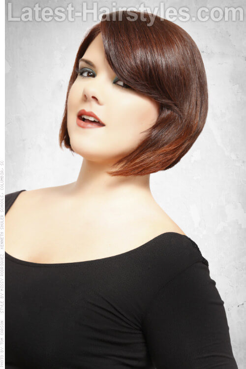 Short Fringe Hairstyles For Round Faces Page 1