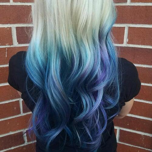 Teal Highlights Mermaid