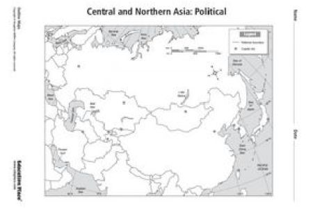 northern eurasia blank political map » Full HD MAPS Locations ...