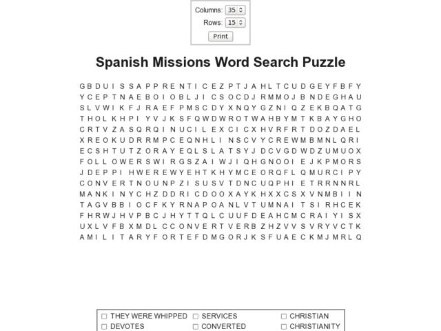 Time Management Word Search Puzzle