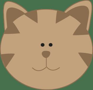 Kitty Cat Face Clip Art - Kitty Cat Face Image