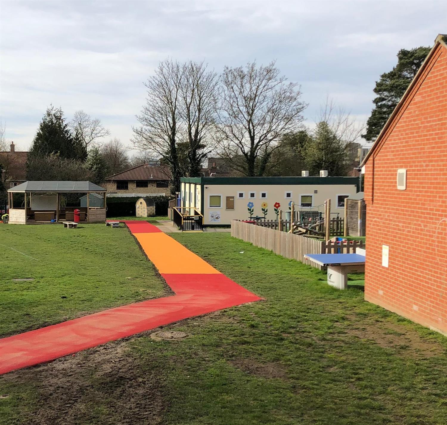 Browick Road School's Daily Mile Track | Pentagon Play