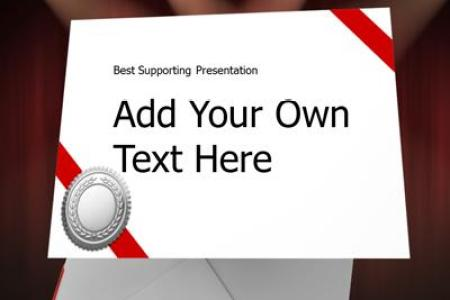 Envelope Please   A PowerPoint Template from PresenterMedia com