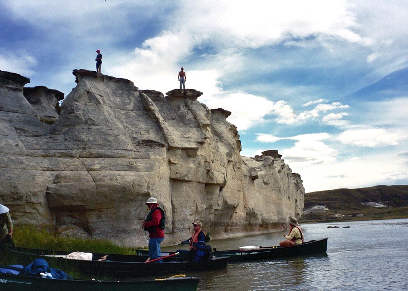 Canoeing The Upper Missouri River Breaks National Monument