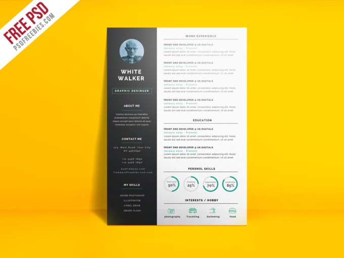 30 Simple and Basic Resume Templates for all Jobseekers   WiseStep clean resume template