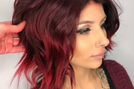 medium length dark red hairstyles » Full HD MAPS Locations - Another ...
