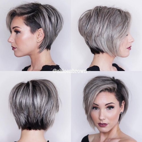 Layers Out Growing Hair Short