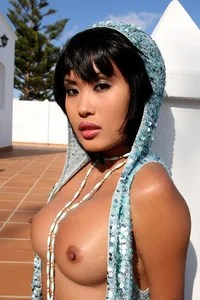 Gorgeous Danika Gets Wet And Naked