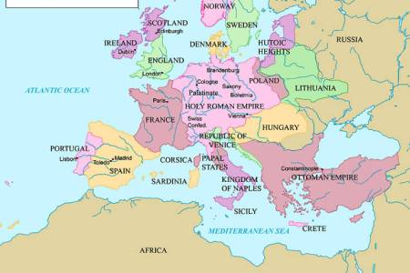 late medieval europe map labeled » Full HD Pictures [4K Ultra ...