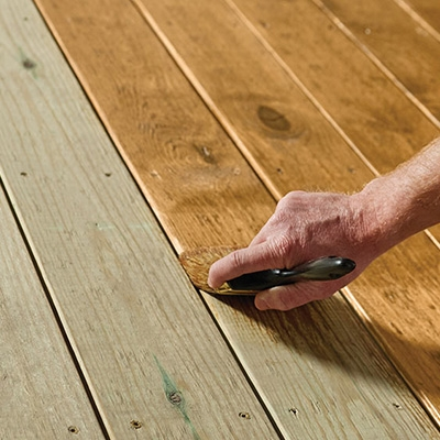 Best Exterior Wood Stains For Your Project The Home Depot | Outdoor Wood Steps Home Depot | Treated Wood | Handrail | Spiral Staircase | Staircase | Concrete Steps