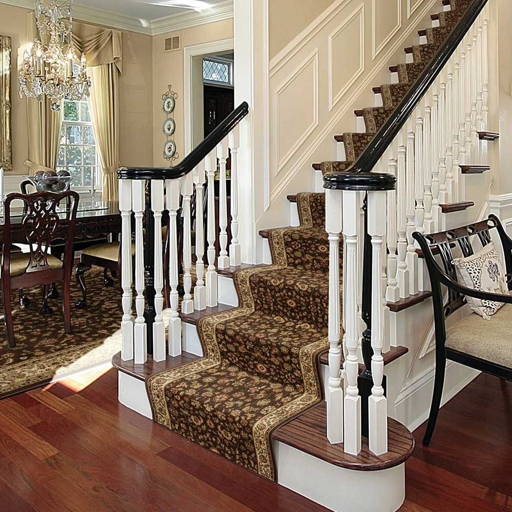 How To Install A Stair Runner The Home Depot | Stair Carpets Near Me | Basement | Diamond Pattern | Wall To Wall | Berber | Stylish