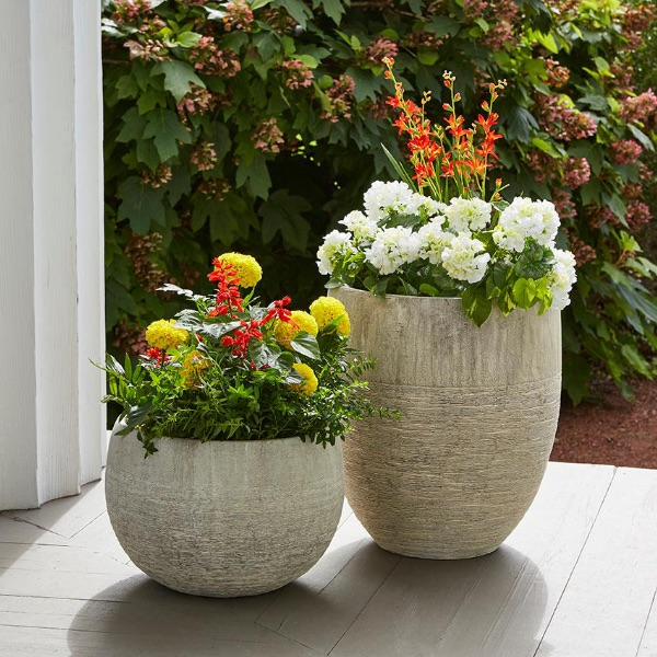 Tall Clay Pots