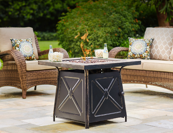 Patio Furniture   The Home Depot Fire Pit Sets