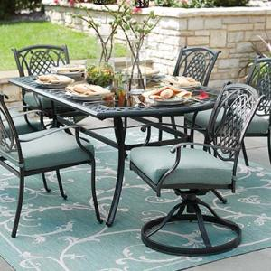 Metal Patio Furniture Sets   Pieces   The Home Depot Metal Patio Dining Sets