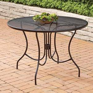 Metal Patio Furniture Sets   Pieces   The Home Depot Metal Patio Tables