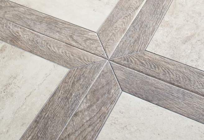 Lay Out the Tile Floor Pattern at The Home Depot Do a Dry Run   Set Pattern Floor Tile