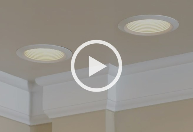 Learn to Install Recessed Lighting at The Home Depot Want functional  out of the way lighting that s big on ambiance  Try recessed  lights