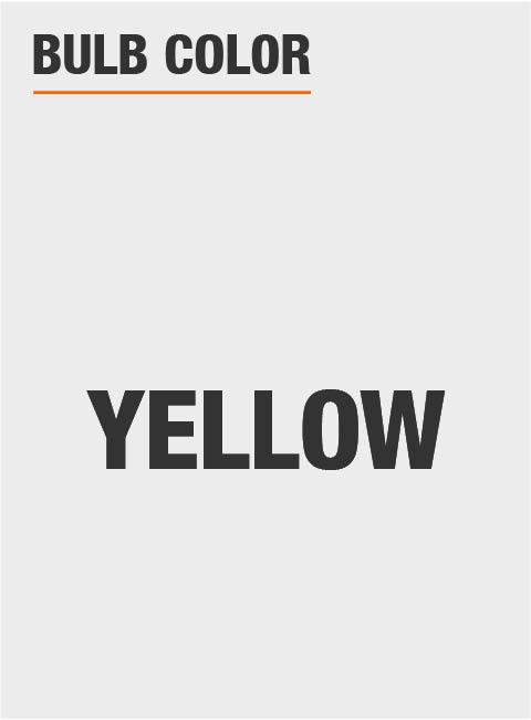 Yellow Light Bulbs Bugs