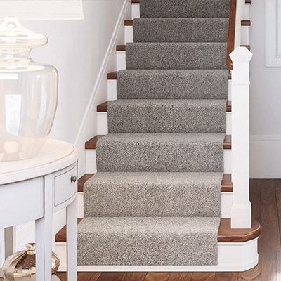 Carpet At The Home Depot | Berber Carpet For Stairs | Decorative | Waterfall Stair | Sophisticated | Durable | Master Bedroom