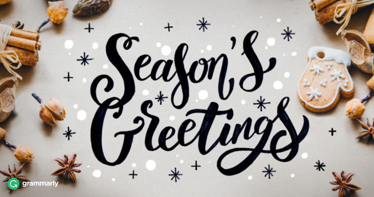 Alternative Christmas Greetings