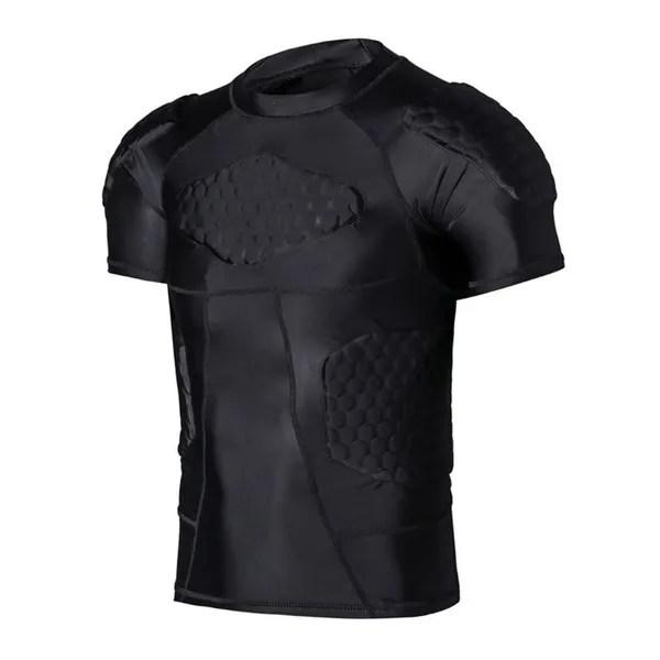 Padded Compression Basketball Shirt