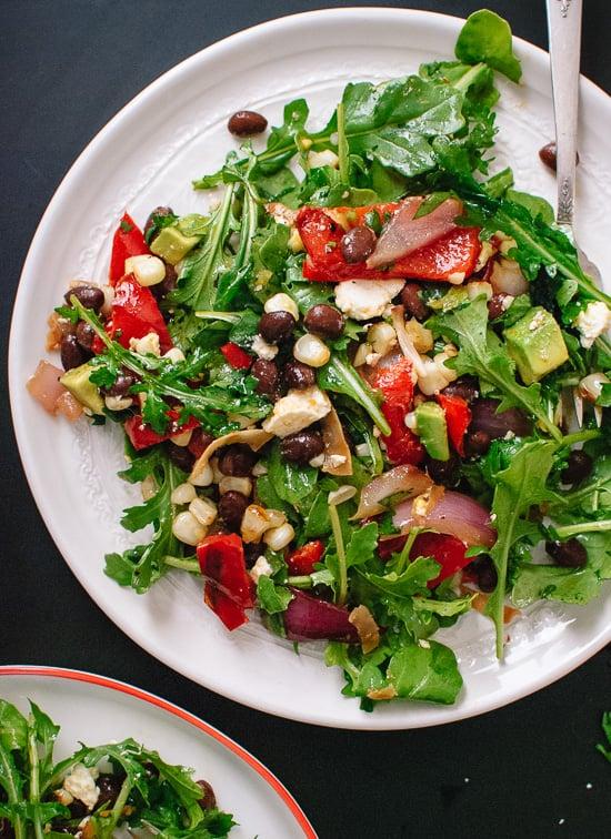 Vegetarian Grilled Summer Salad Cookie And Kate