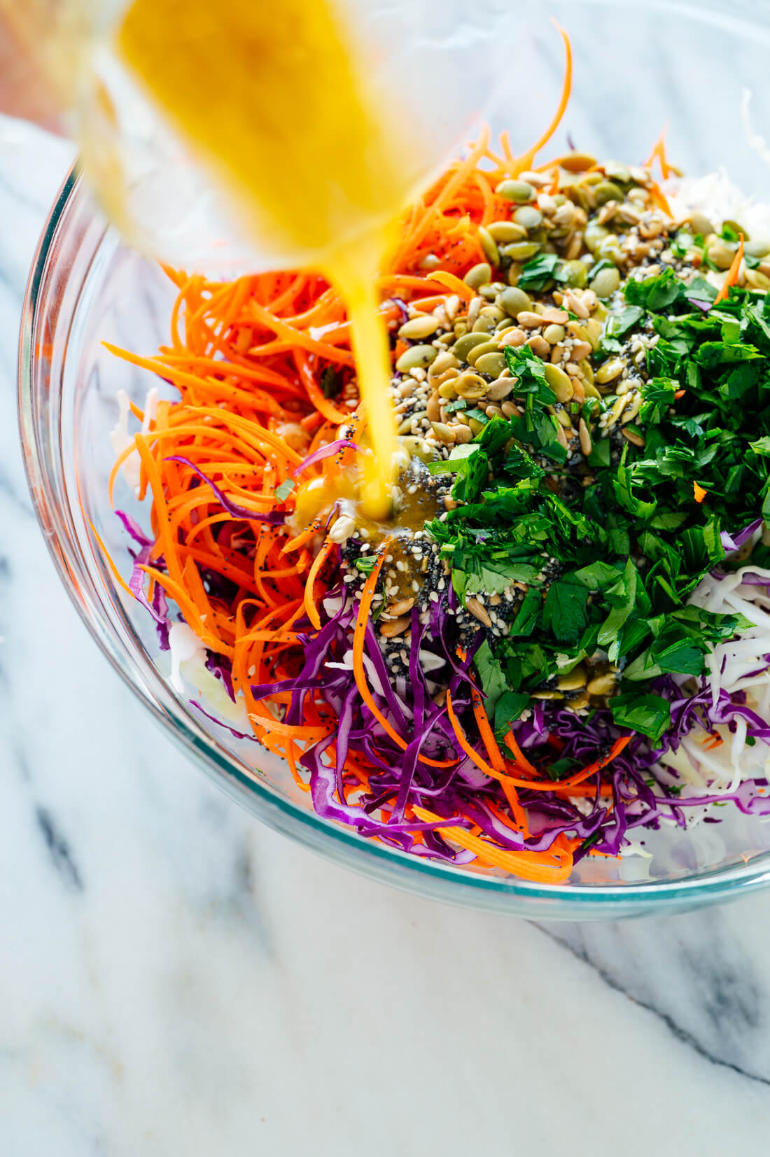 Simple Healthy Coleslaw Recipe Cookie And Kate