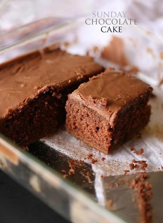 Easy Chocolate Cake 9x9 Recipes