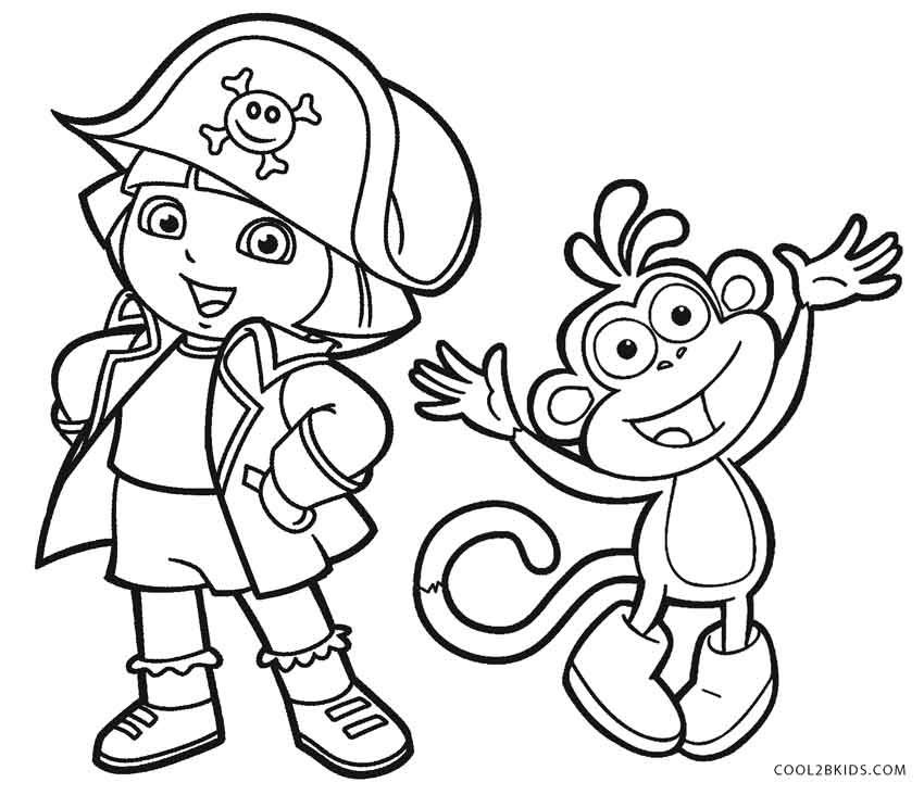 Nick Jr Easter Coloring Pages