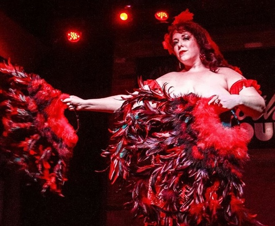 All Star Local Burlesque Lineup Comes To One Of Their Own