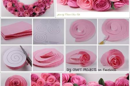 Homemade paper flower decorations flowers online 2018 flowers online cm cm diy paper flower backdrop decoration kids birthday party image is loading cm cm diy paper flower backdrop decoration kids amazon com purple ombre mightylinksfo