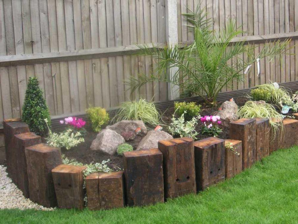 Build Raised Garden Against House