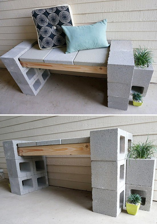 40 Cool Ways To Use Cinder Blocks