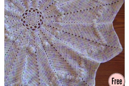 Round Ripple Crochet Baby Blanket 4k Pictures 4k Pictures Full