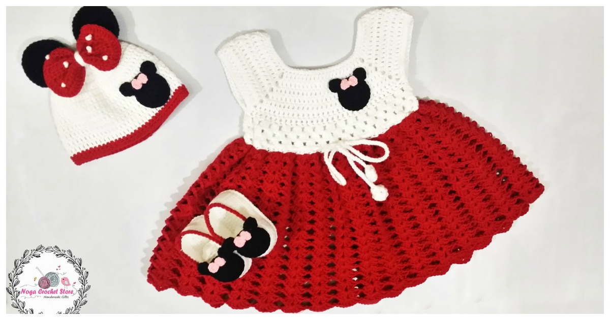Crochet Patterns For Mickey Mouse Outfit