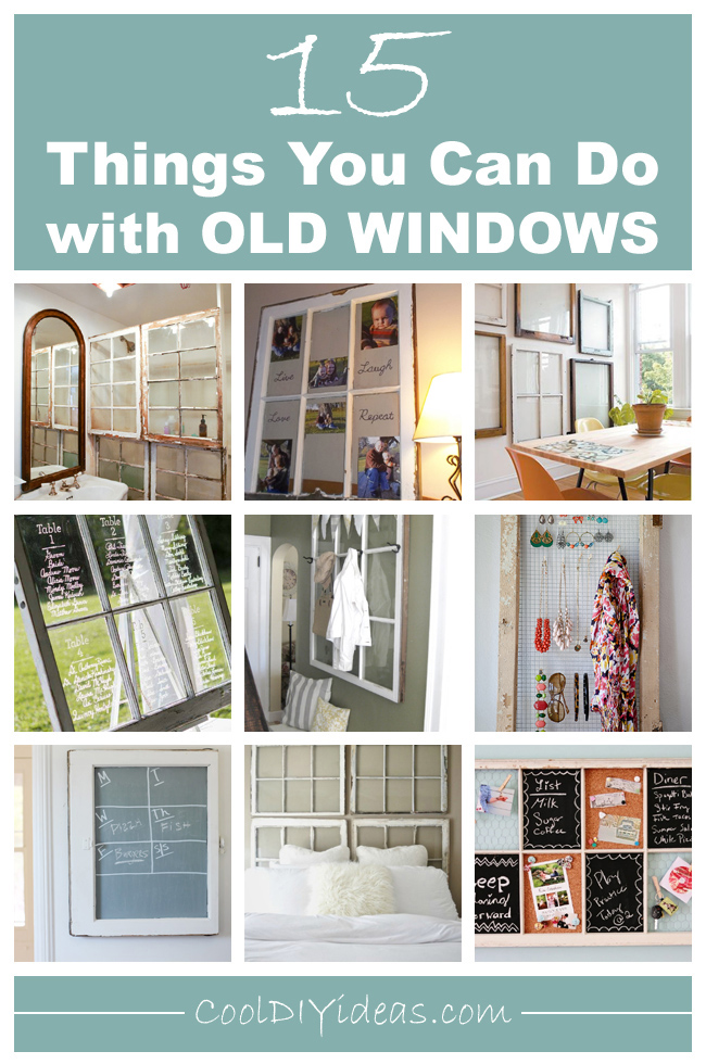 Diy Projects Old Window Frames