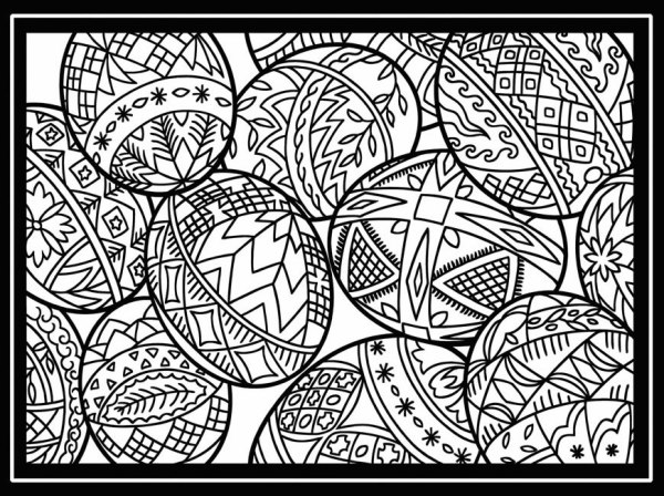 free detailed coloring pages # 22