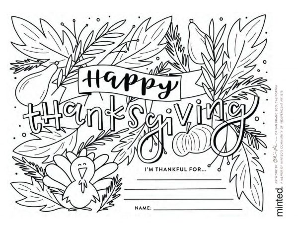thanksgiving coloring pages printables # 20