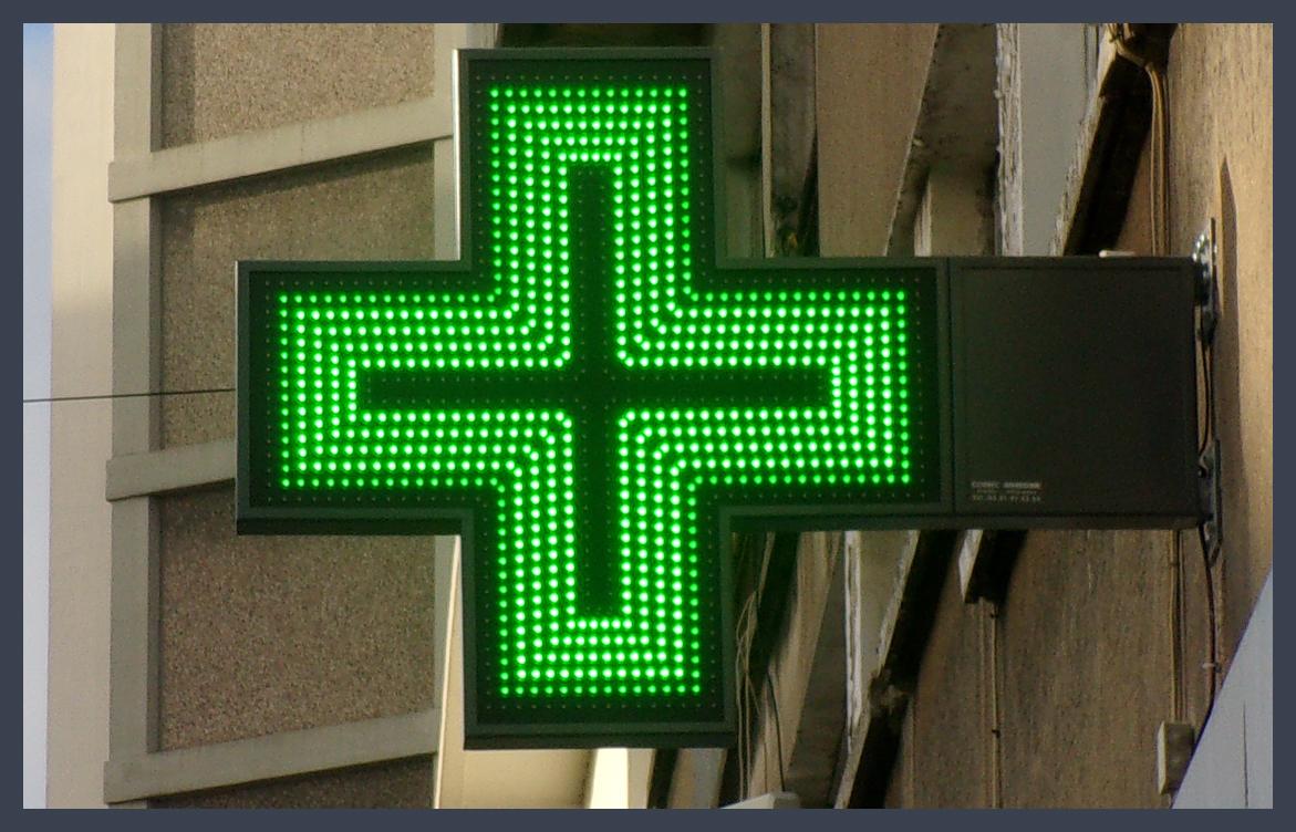 Les Croix De Pharmacie 224 Led Anim 233 E Et Programmables